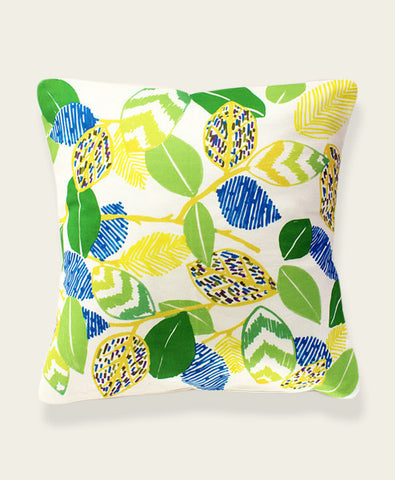 An Lim Spring Leaves Pillow