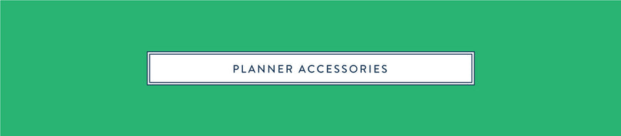 Simplified Planner Accessories