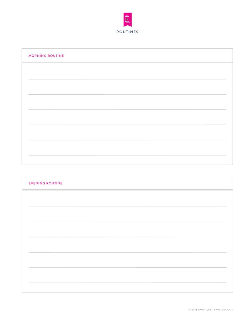 graphic regarding Free Printable Notes Pages identified as Absolutely free printable library Simplified® via Emily Ley