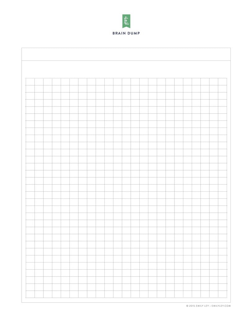 graphic regarding Emily Ley Printables known as Absolutely free printable library Simplified® by way of Emily Ley