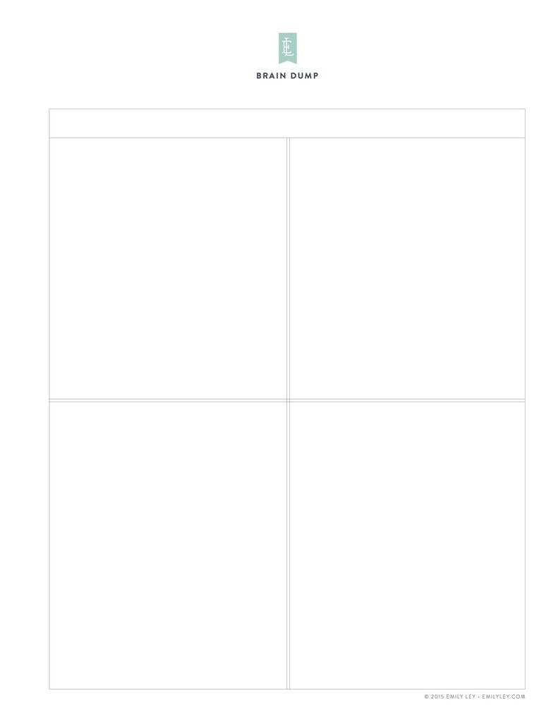 graphic about Rectangle Printable named Free of charge printable library Simplified® as a result of Emily Ley