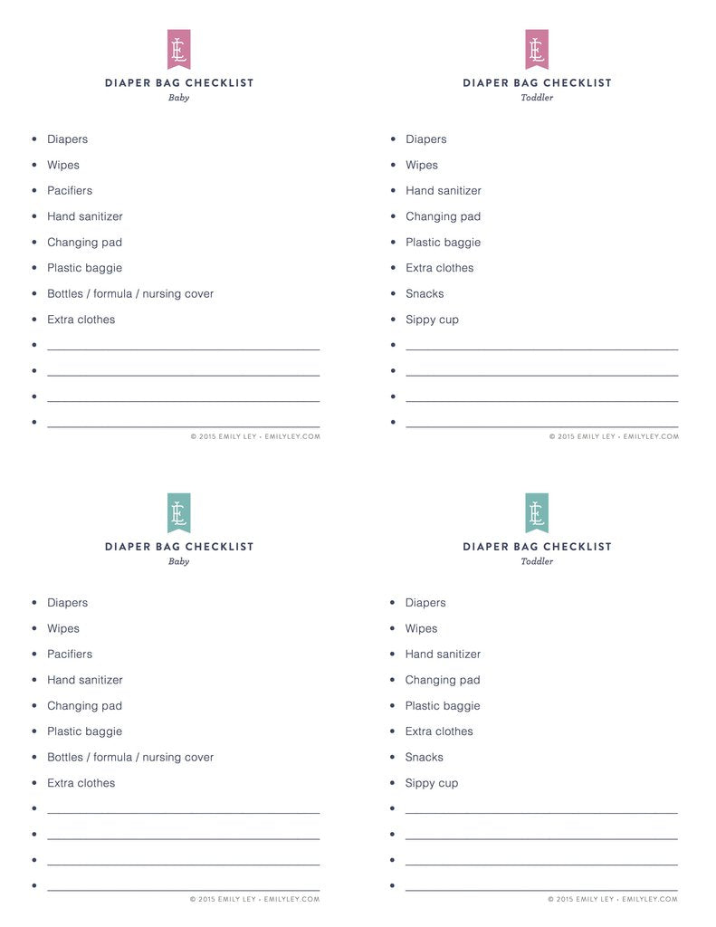 photo regarding Emily Ley Printables identify Free of charge printable library Simplified® by means of Emily Ley