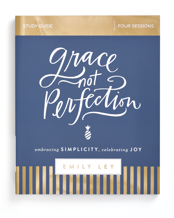 Grace Not Perfection Study Guide cover