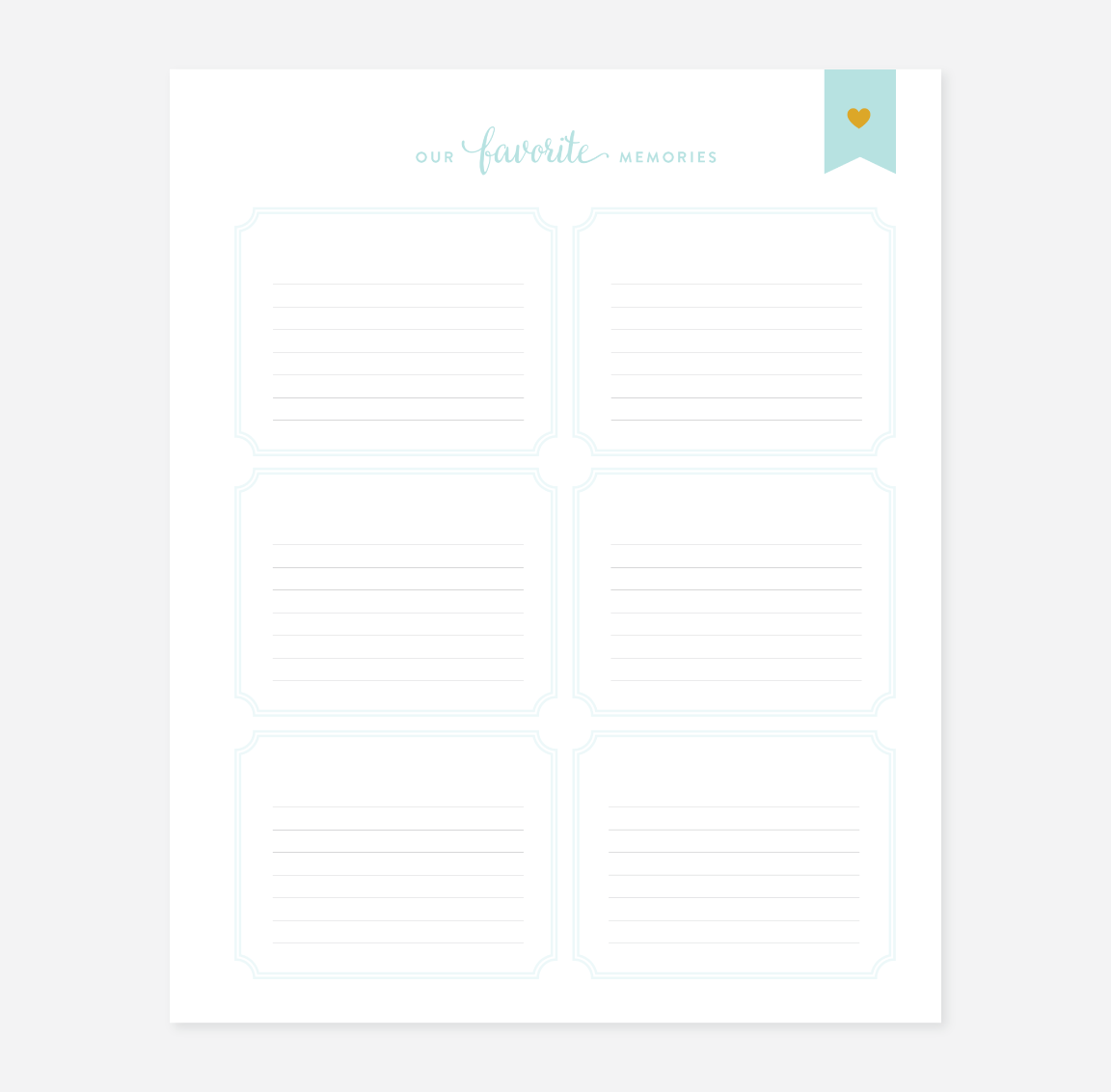 Heavenly Baby Baby Book Page Pack