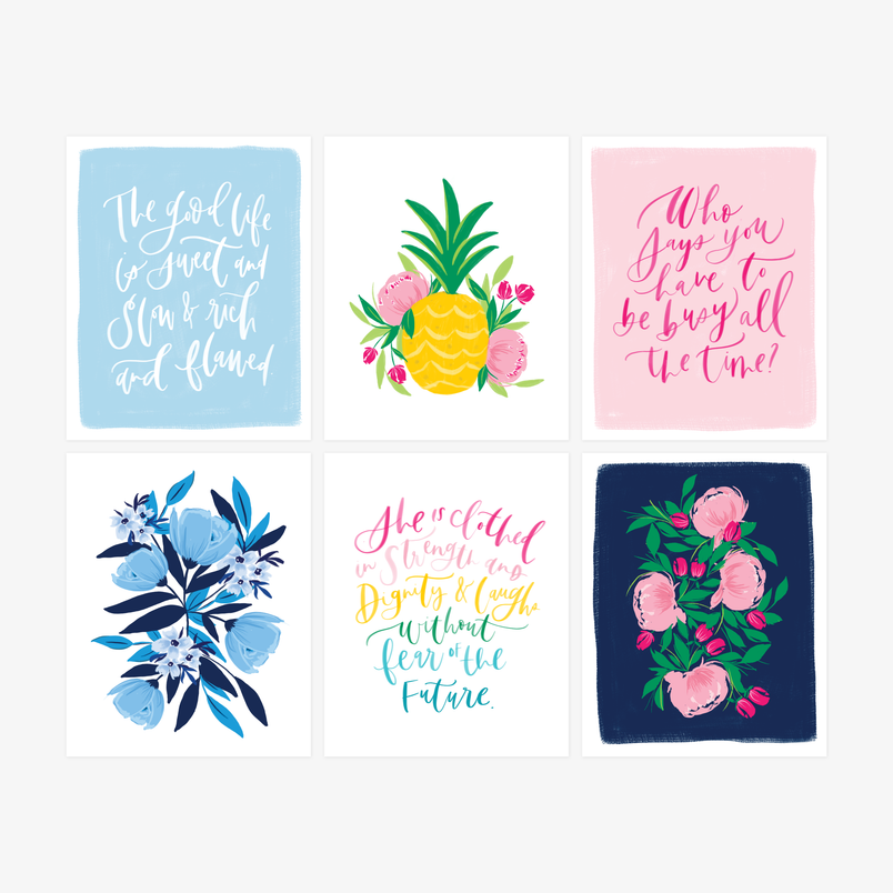 Bundle: happy home art print