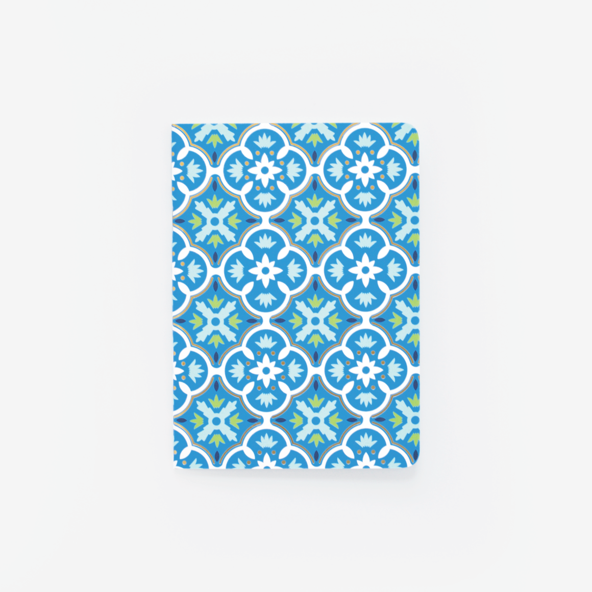 featured: Blue Tile Mini Notebook