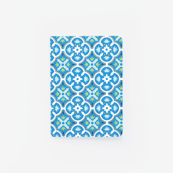 Blue Tile, Mini Notebook