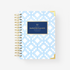 BLUE TRELLIS DAILY PLANNER COVER