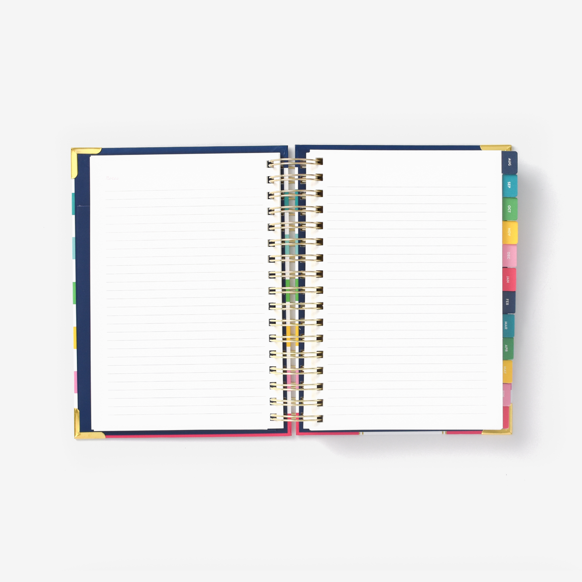 2020-2021 Daily, Simplified Planner, Happy Floral