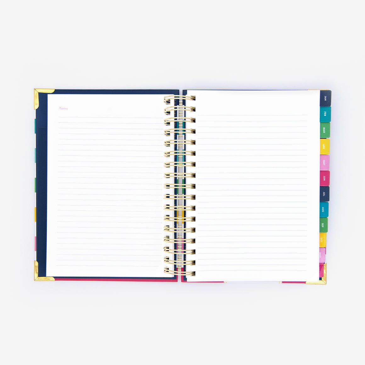 2021 Daily, Simplified Planner, Gold Bee