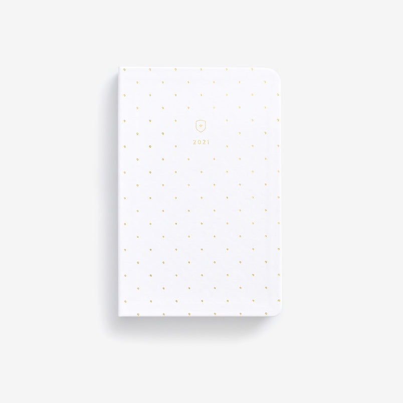 Gold Dot 2021 Daily Dapperdesk Planner