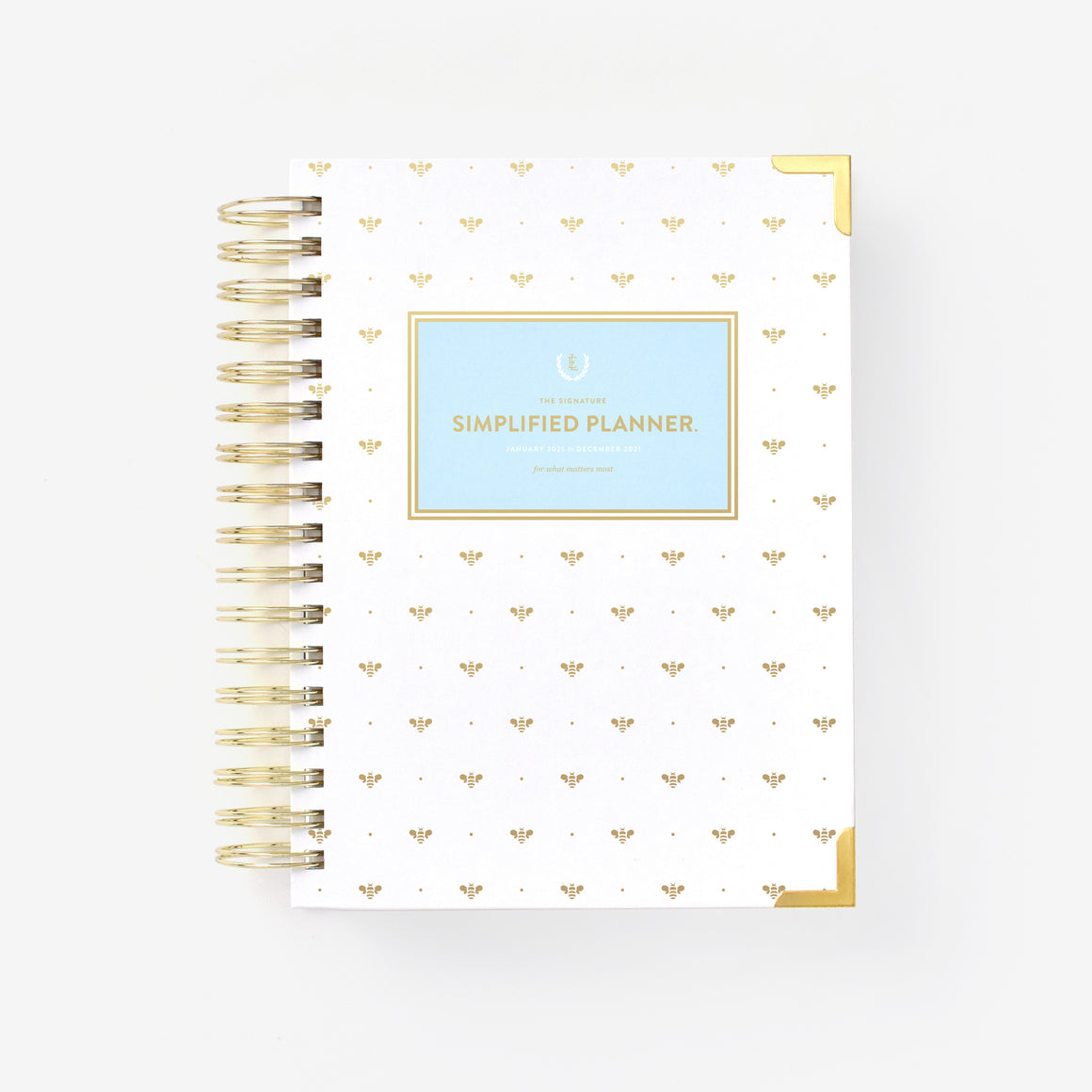 featured: GOLD BEE DAILY PLANNER COVER