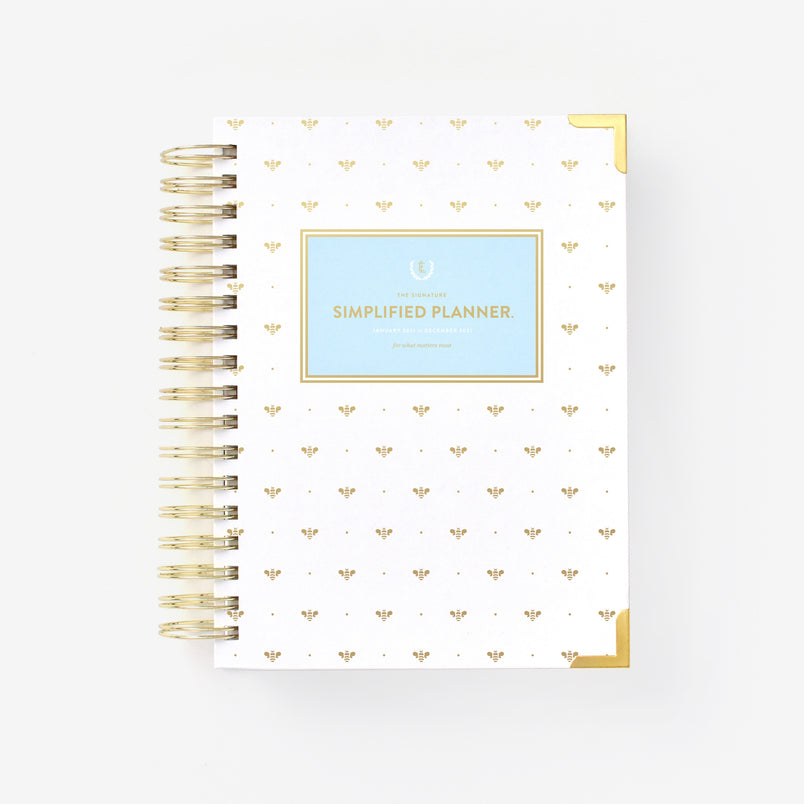 Gold Bee 2021 Daily Simplified Planner