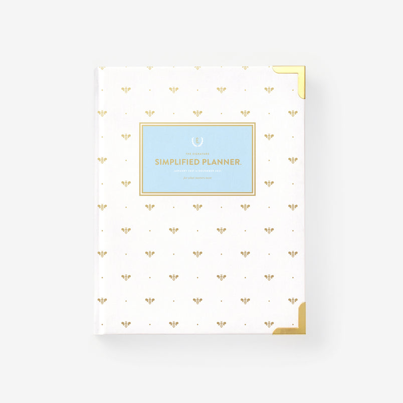 Gold Bee 2021 Weekly Simplified Planner
