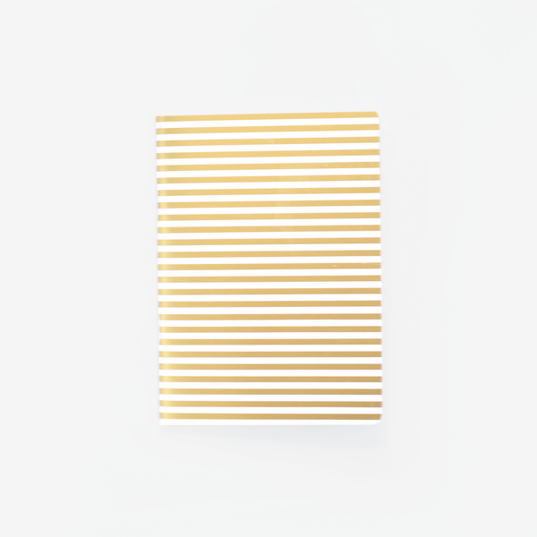 Gold Stripe, Mini Notebook