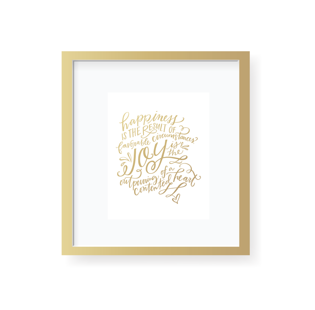 Happiness and Joy Art Print