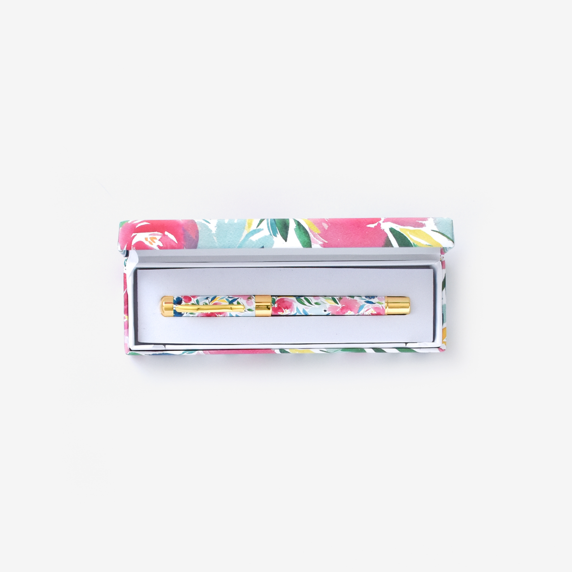 featured: HAPPY FLORAL PEN IN OPEN BOX