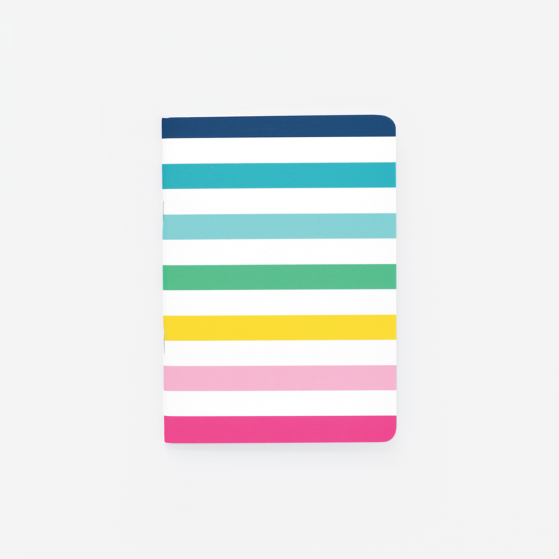 Happy Stripe® Mini Notebook