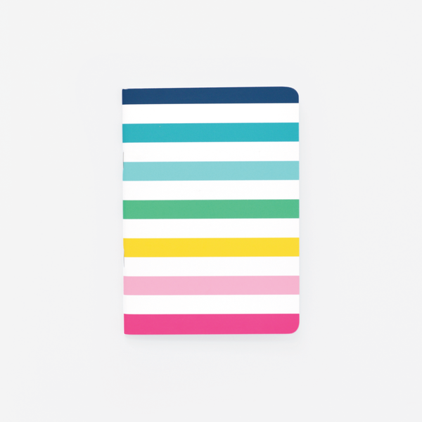 Happy Stripe®, Mini Notebook