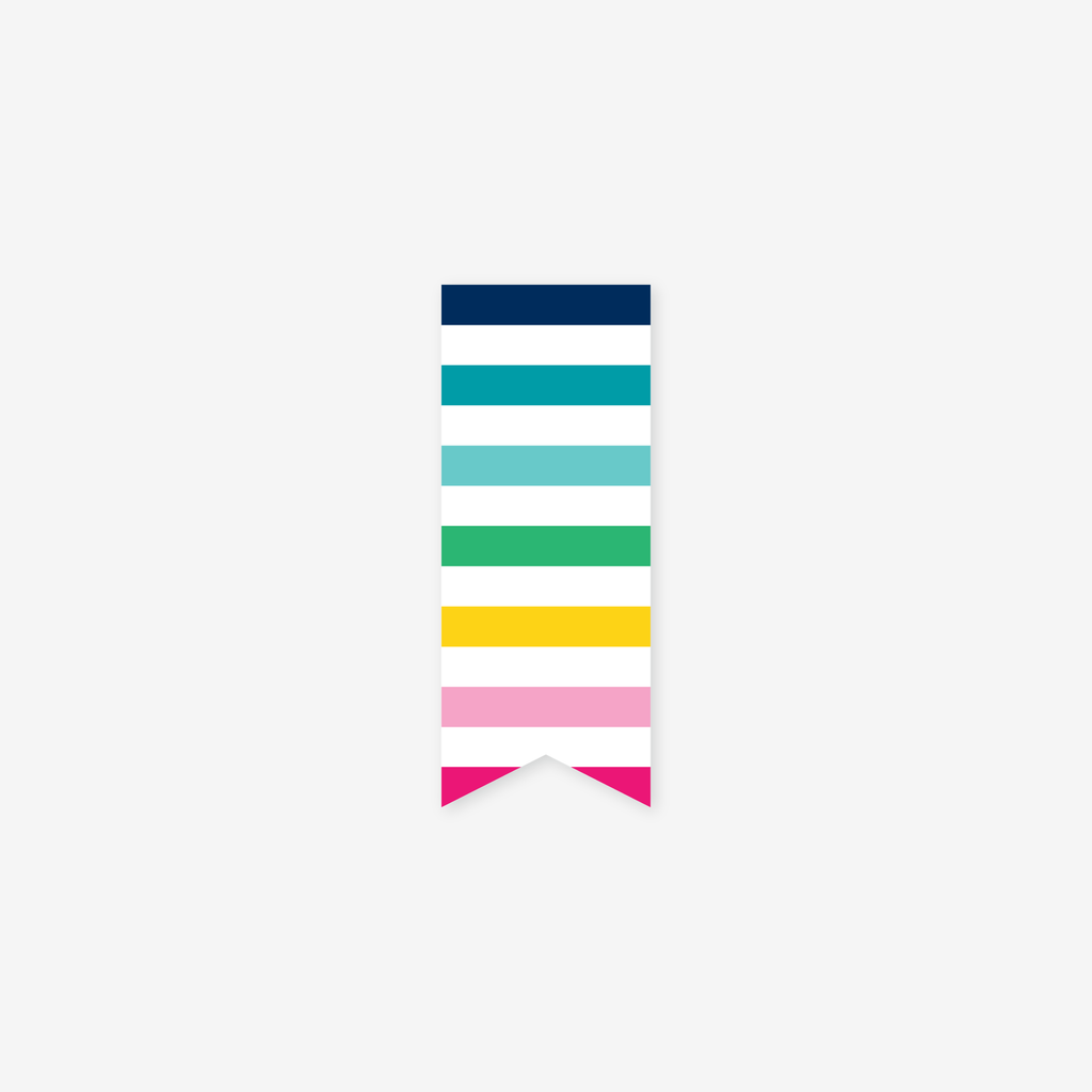 Happy Stripe®, Page Marker