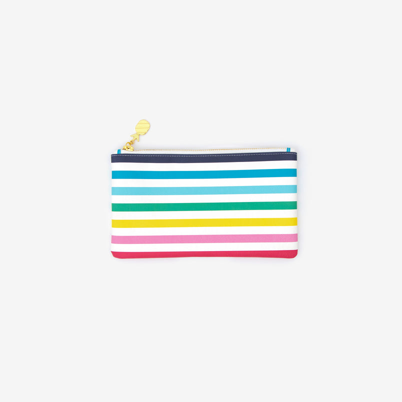 Pencil Pouch Happy Stripe