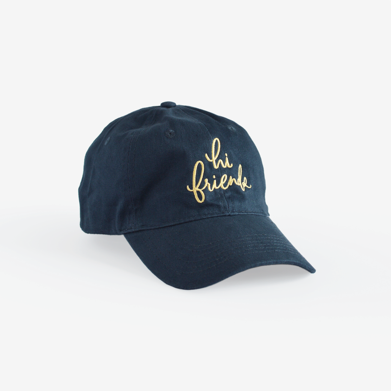 Hi Friends Hat - Navy