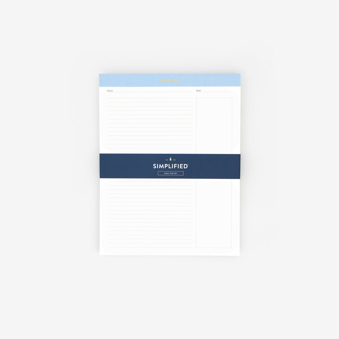 Blue Legal Pad Set