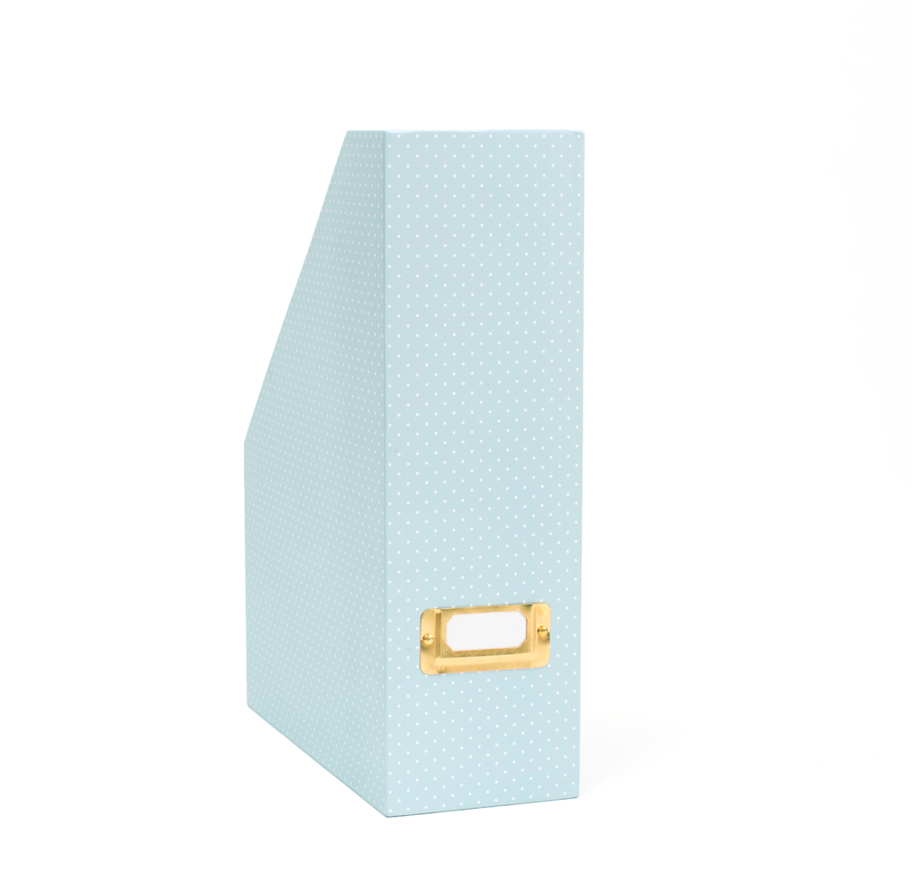 Magazine Box - Mint Dot