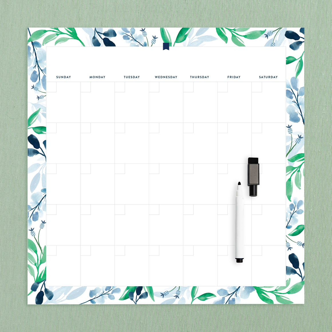 featured: Monthly Calendar Magnet