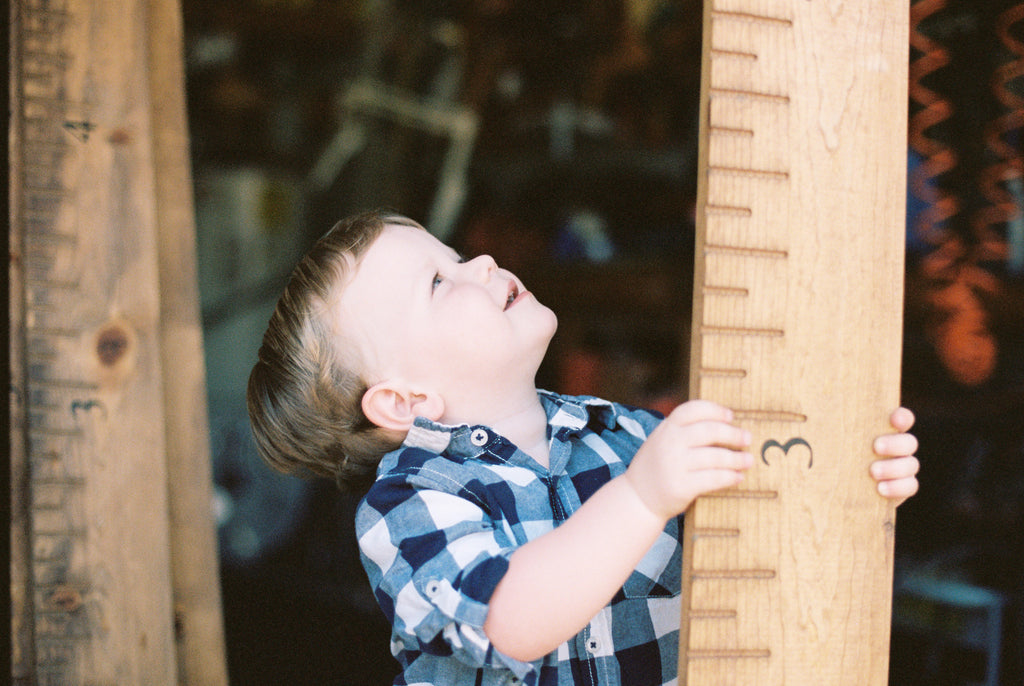 Handmade Wooden Growth Chart // SHIPS ON MARCH 1, 2017