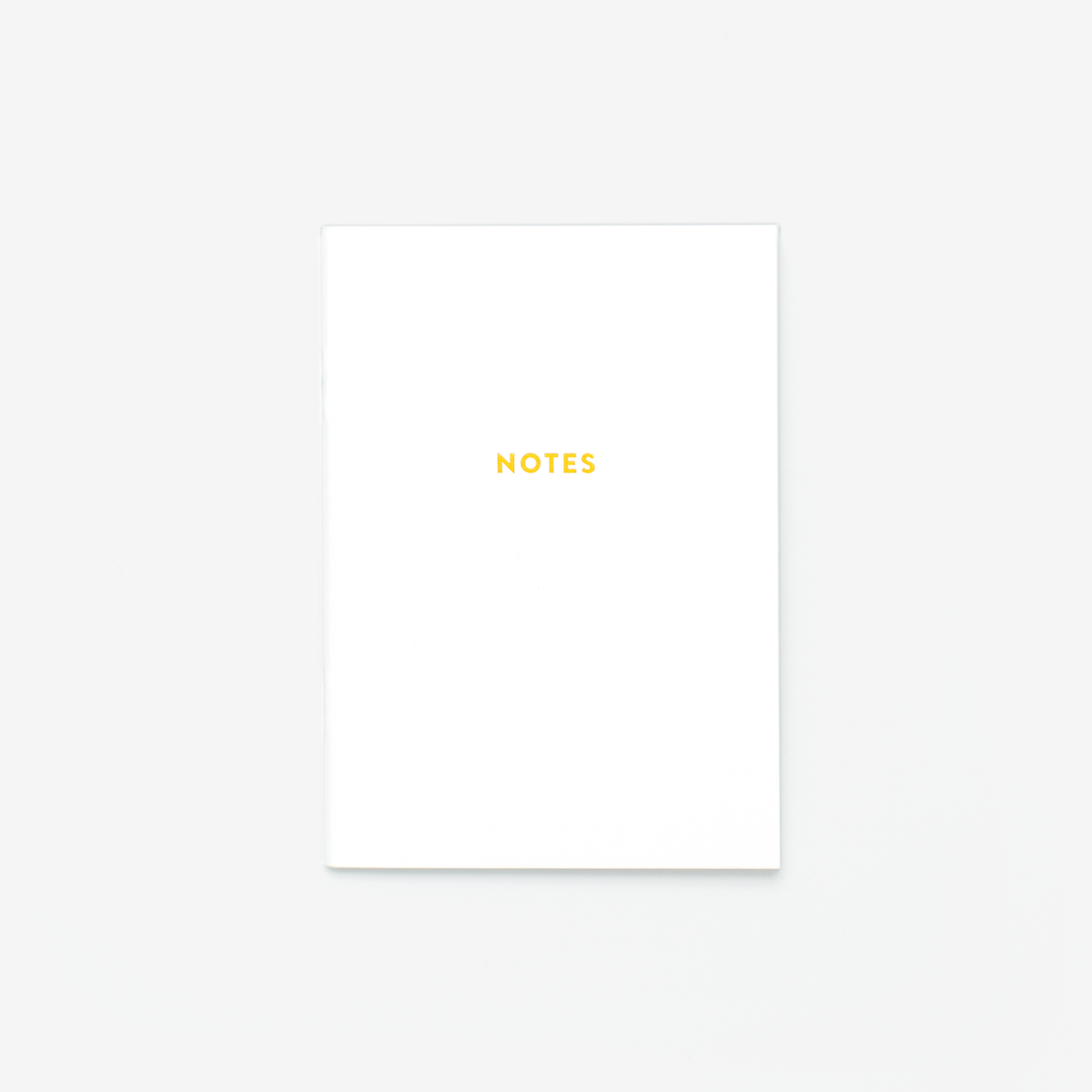 Gold Notes Mini Notebook