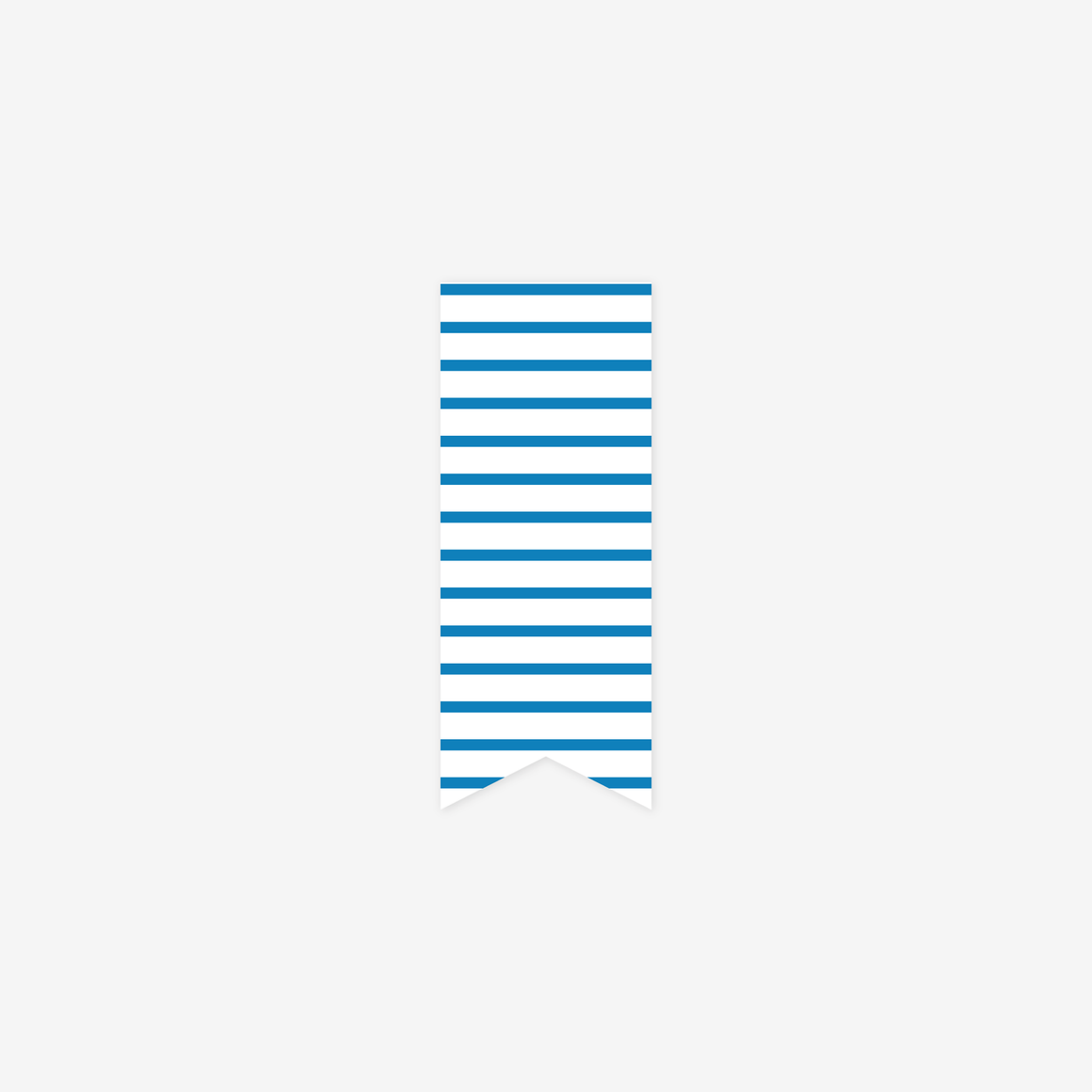 featured: Blue Pinstripe Page Marker