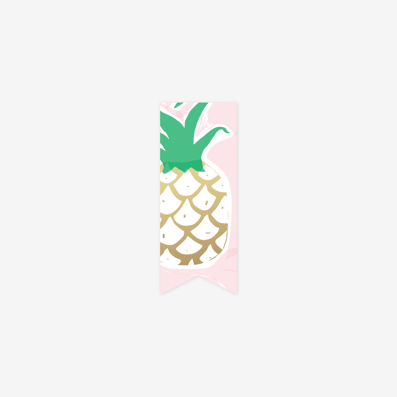 Pink Pineapple Page Marker