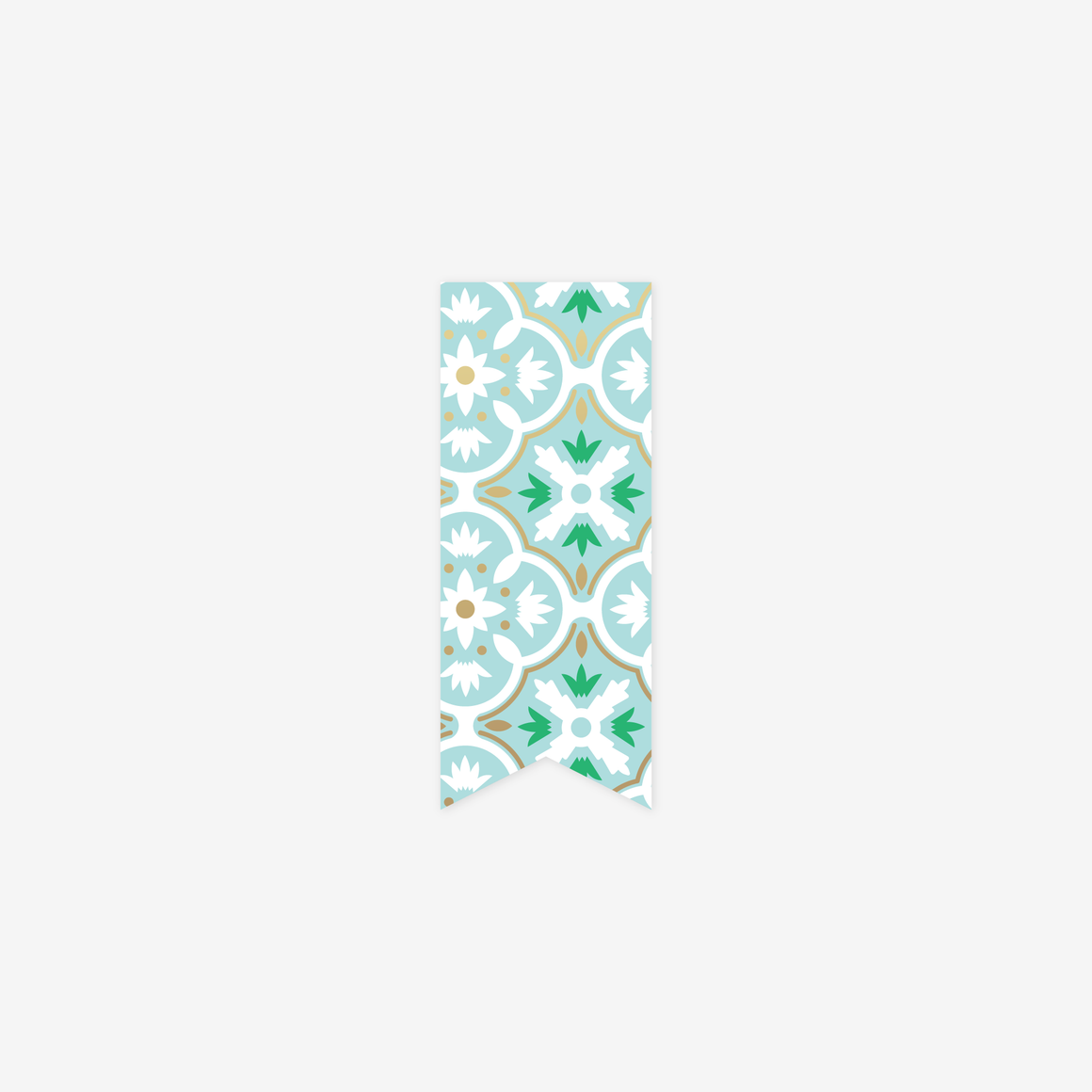 featured: Mint Tile Page Marker