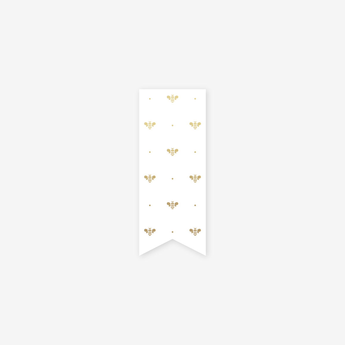 featured: GOLD BEE PAGE MARKER