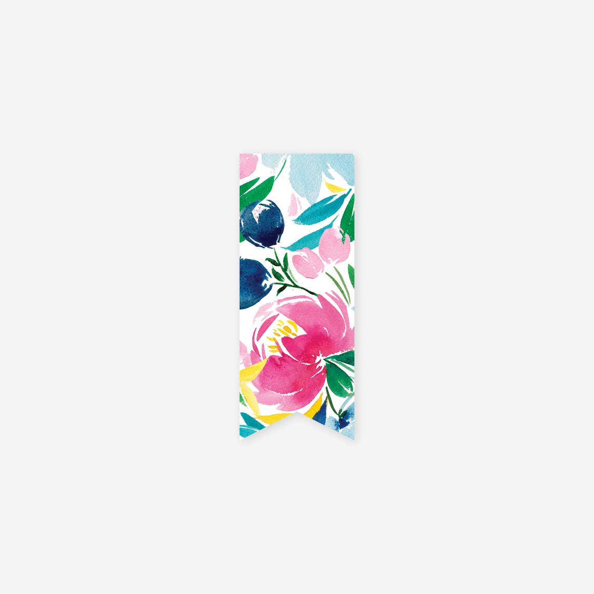 featured: HAPPY FLORAL PAGE MARKER