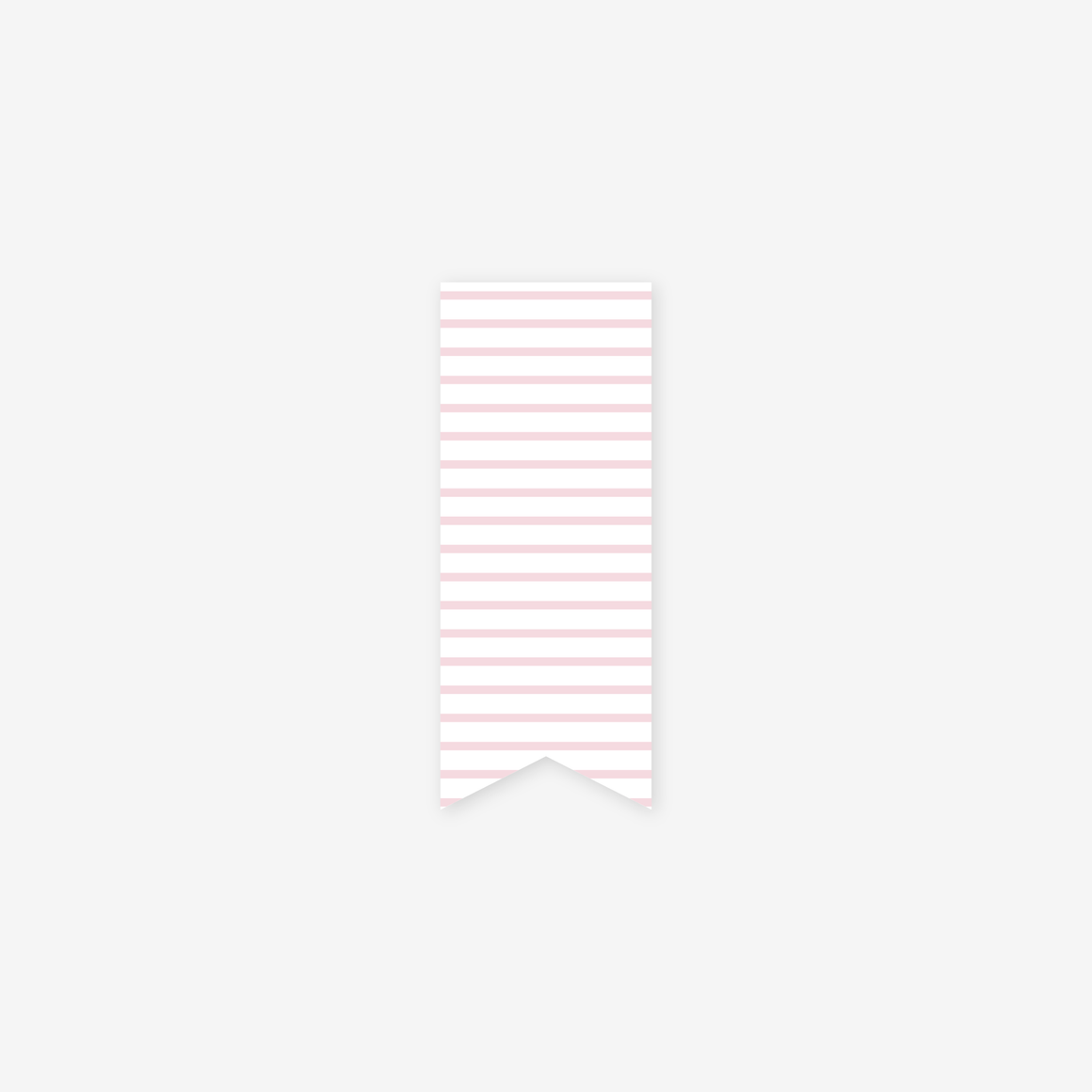 featured: PINK PINSTRIPE PAGE MARKER