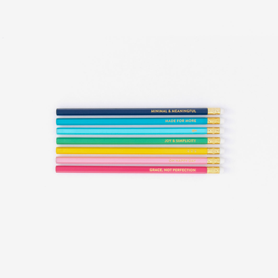Happy Stripe Pencil Pack