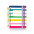 FUCHSIA & TURQUOISE DAILY STRETCHY Bands on a Planner
