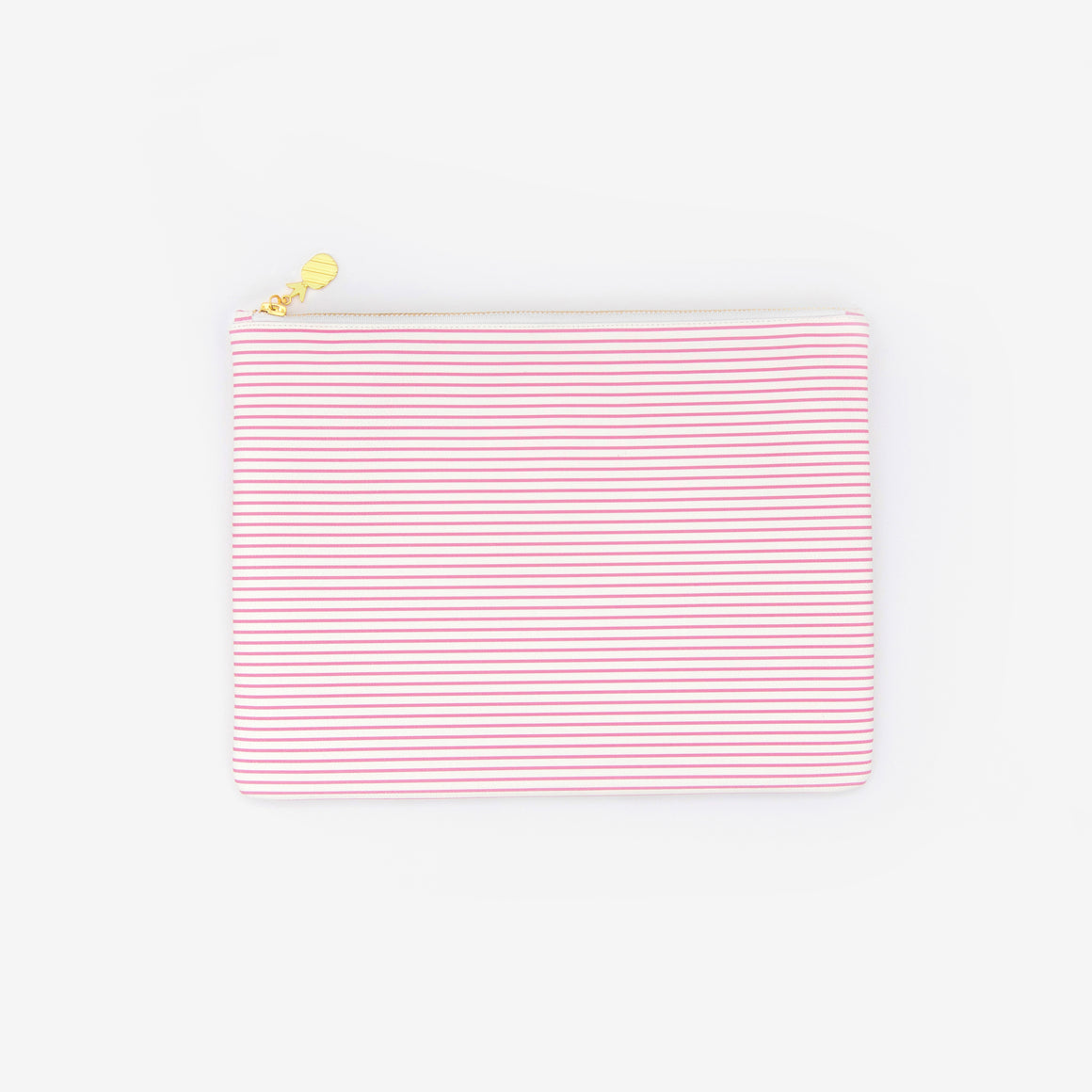 featured: Pink Pinstripe, Planner Pouch