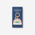 RAINBOW ENAMEL KEY CHAIN PACKAGING