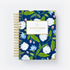 NAVY HYDRANGEAS DAILY PLANNER COVER