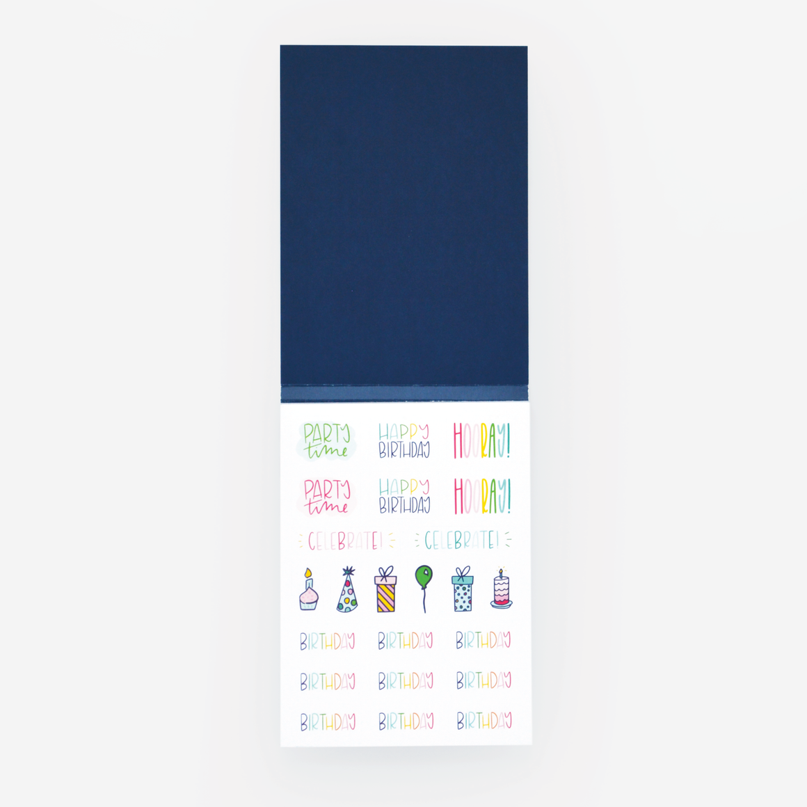 Simplified Planner Sticker Book