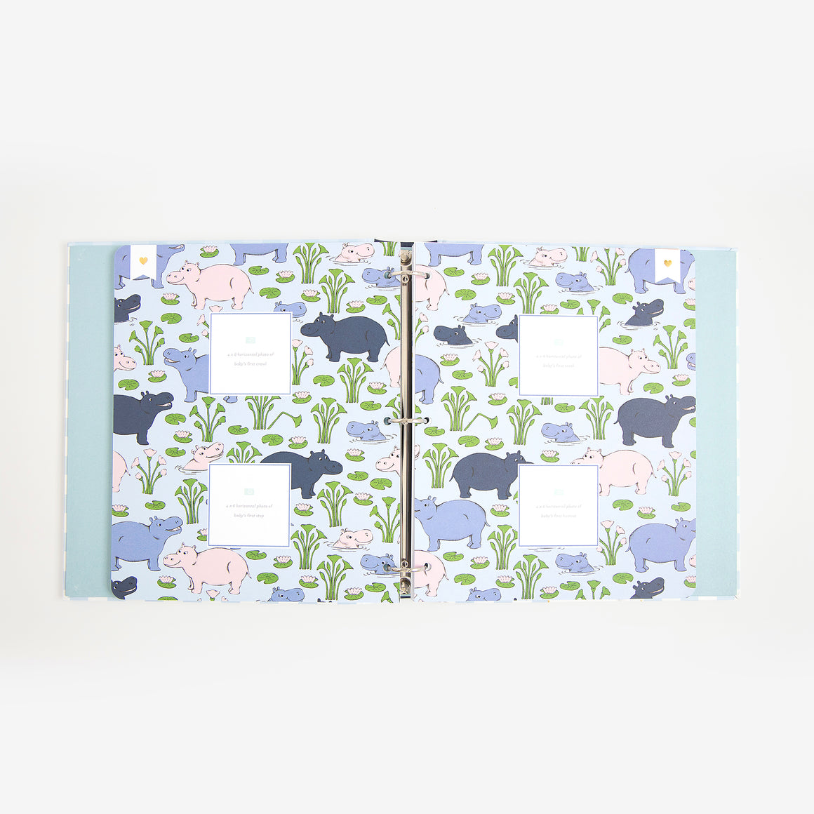 TBBC + Simplified Baby Book, Blue Grand Gasparilla Gingham
