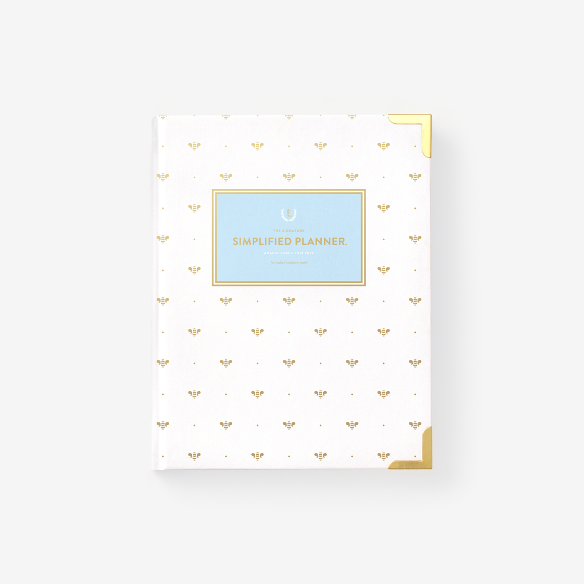 featured: GOLD BEE WEEKLY PLANNER COVER