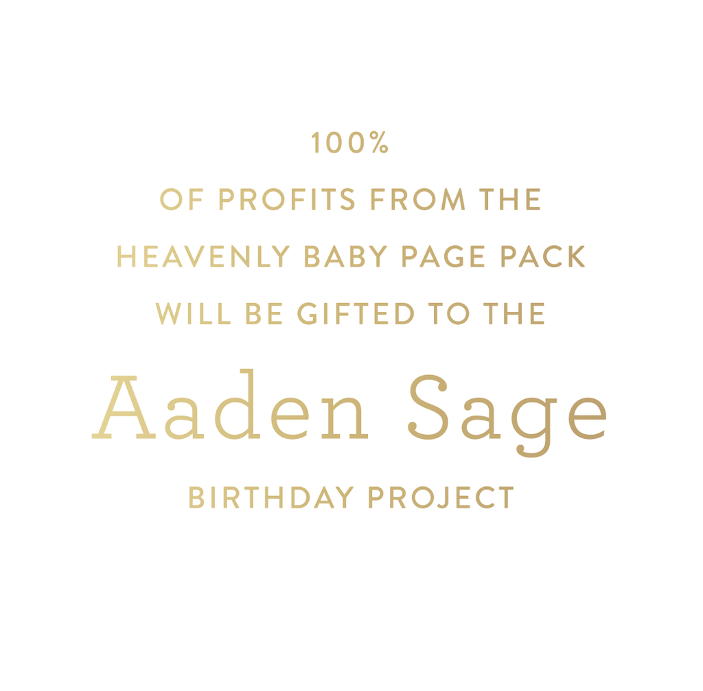 Heavenly Baby, Baby Book, Page Pack