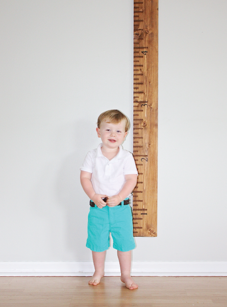 Handmade Wooden Growth Chart // SHIPS ON DEC 1, 2016