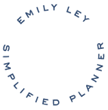 stamp graphic: Emily Ley Simplified Planner