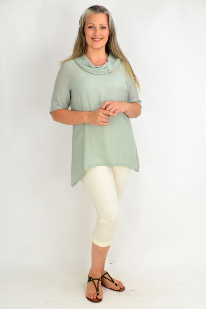 Sage Green Tunic Top