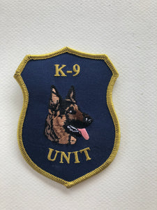 K-9 Unit German Shepherd Head Patch | Right Facing #1